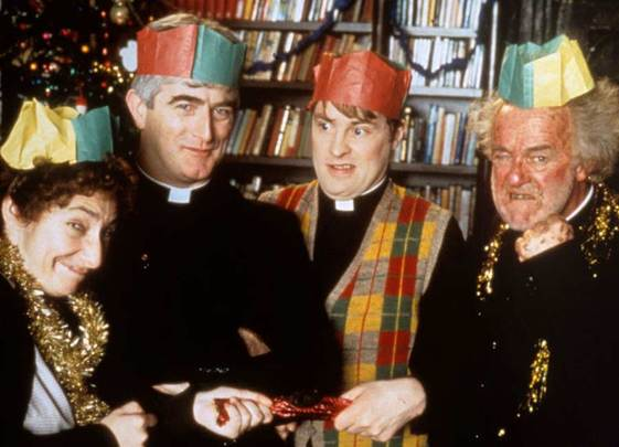 Happy Christmas, Father Ted.