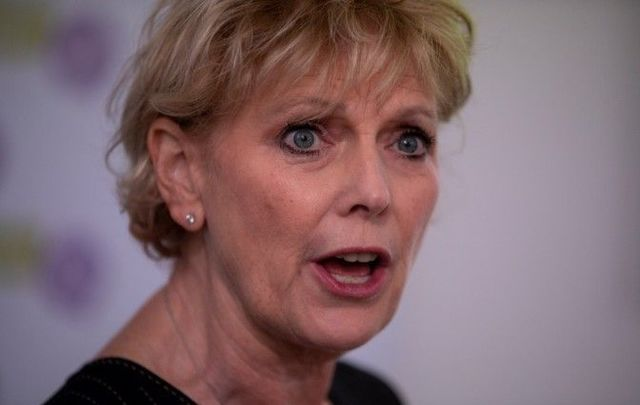 MP Anna Soubry had some harsh words for members of her party