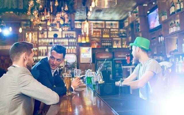 Irish bars in Woodside are still flying the flag.