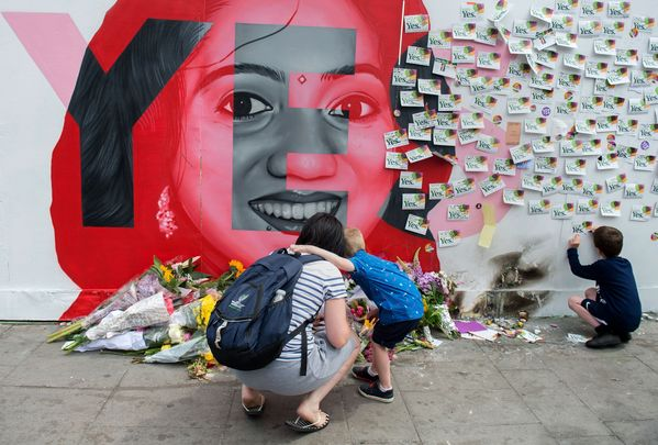 A vigil in honor of Savita the women whose death sparked the abortion debate and eventual Eight Amendment referendum.