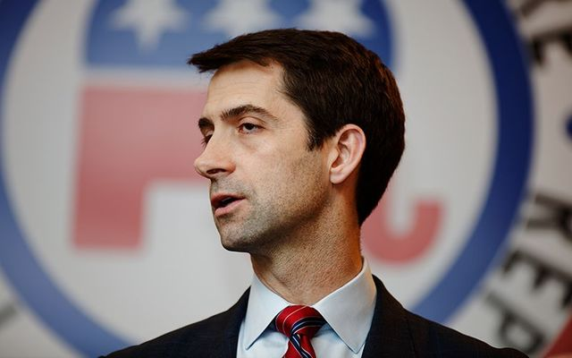 Senator Tom Cotton from Arkansas