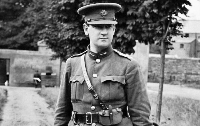 The hat Michael Collins was wearing when he died at Beal na mBlath was removed from a Dublin museum display.