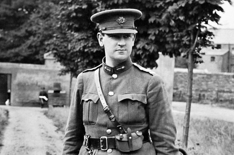 Why Michael Collins' hat was removed from a Dublin museum