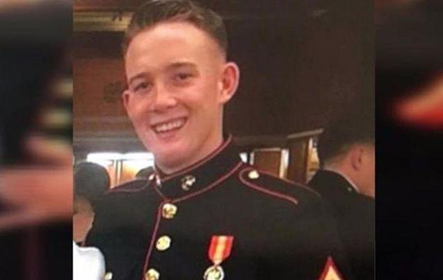 Hero Brendan Kelly prepares to deploy to Afghanistan