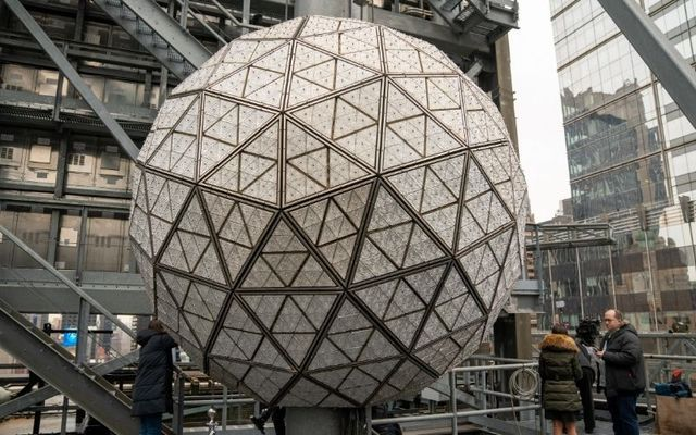 The Waterford Crystal Times Square New Year\'s Eve Ball