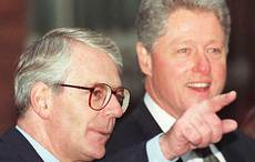 John Major was furious at Bill Clinton for Gerry Adams' visa