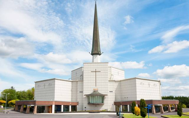 Knock Basilica at Knock Shrine in Knock, County Mayo, Ireland.\n