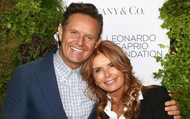 Mark Burnett and Roma Downey arrive at the Leonardo DiCaprio Foundation Gala at Jackson Park Ranch on September 15, 2018, in Santa Rosa, California.