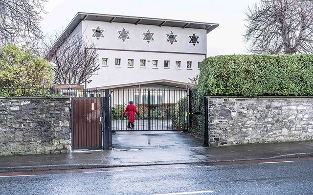 Terenure Synagogue on Rathfarnham Road: Staff at the Dublin synagogue are believed to be treating the incident as an episode of drunken vandalism rather than targeted anti-Semitism.