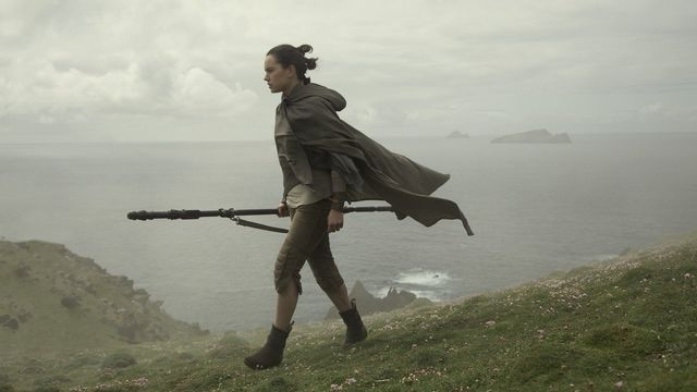 Daisy Ridley filming Star Wars in Ireland