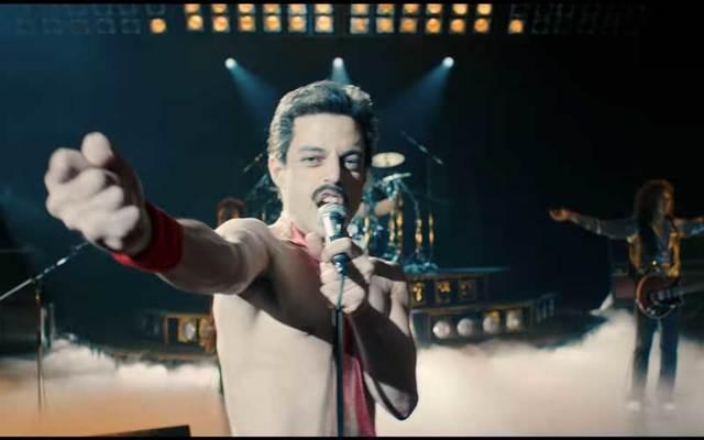 Rami Malek as Freddie Mercury in \'Bohemian Rhapsody.\'