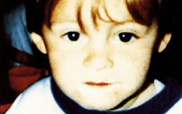 An undated photo of 2-year-old James Bulger, tortured and killed by Jon Venables and Robert Thompson in Bootle, England, in 1993. Both Thompson and Venables were 10 years-old when they tortured and killed 2-year-old James Bulger in Bootle, England.