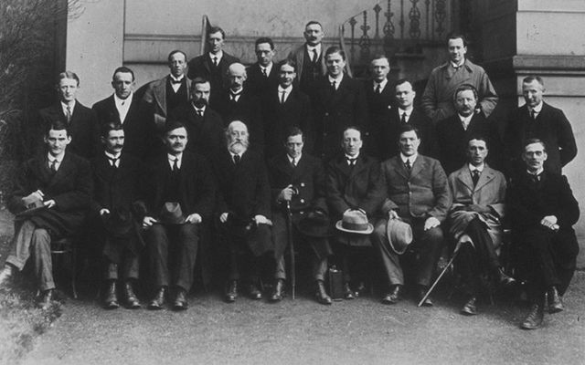 The First Dáil on January 21, 1919, 100 years ago today.