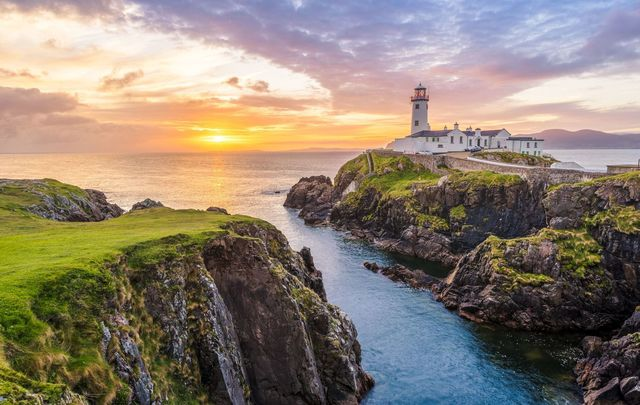 The magnificent Fanad Head Lighthouse, County Donegal is one of the most photographed lighthouses in the world.