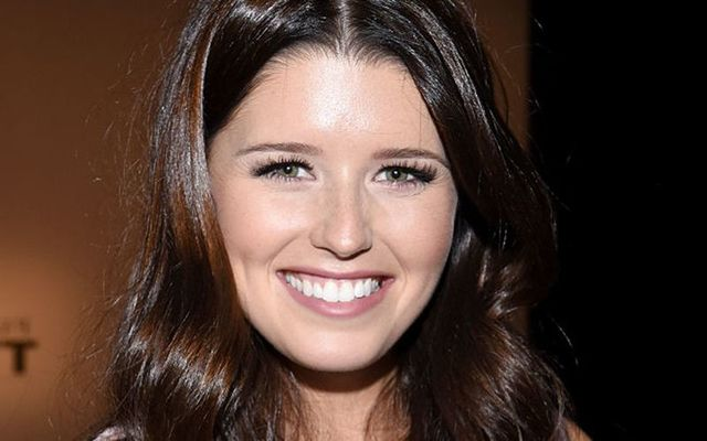 Author Katherine Schwarzenegger attends Jeremy Scott Spring 2016 during New York Fashion Week: The Shows at The Arc, Skylight at Moynihan Station on September 14, 2015, in New York City.