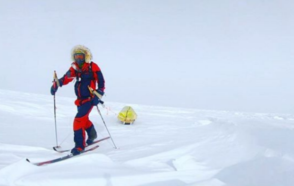 Irish American Colin O\'Brady shares how he completed his journey across Antarctica.