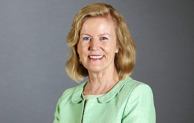Former Irish Ambassador to the US Anne Anderson.