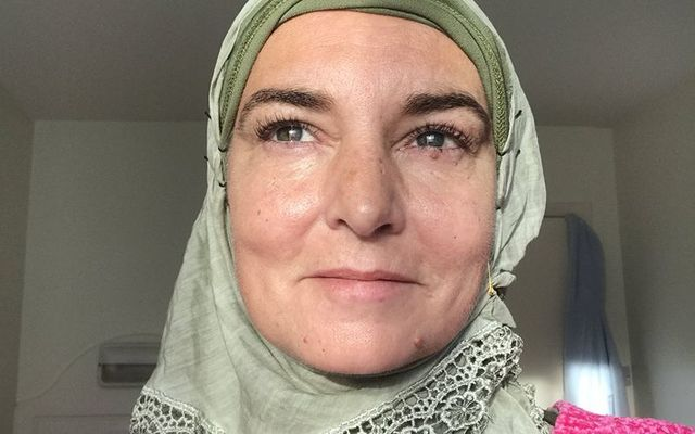 Sinead O\'Connor, whose Muslim name is now Shuhada Sadaqat.