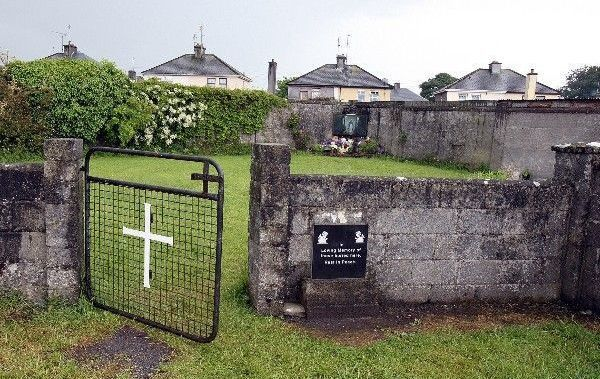 The site of the Tuam Mother and Baby Home