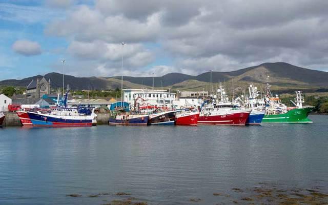 Castletownbere fishing harbour in West Cork.
