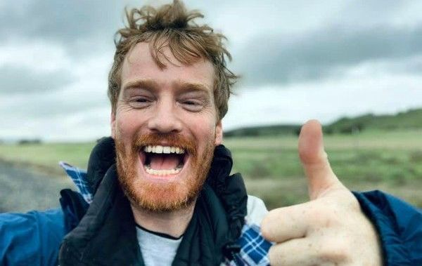 Irish comedian Francis Cronin is walking 500 miles to raise awareness for homelessness