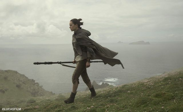 Star Wars filmed on Skellig Michel off the County Kerry coast.