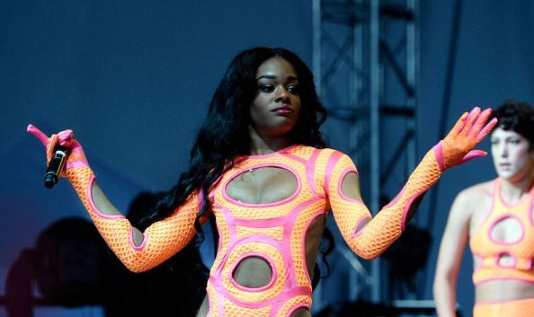Azealia Banks performs during 2013 Governors Ball Music Festival at Randall\'s Island on June 8, 2013, in New York City.