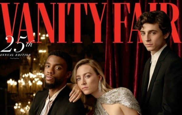 Saoirse Ronan graces the cover of Vanity Fair\'s 25th annual \'Hollywood Issue\'