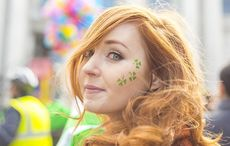 Thumb mi irish woman face st patricks day shamrock getty