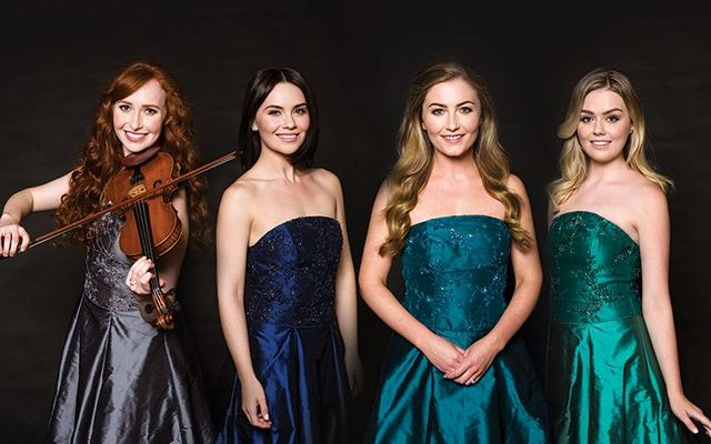 Tara, Mairead, Eabha, and Megan of Celtic Woman