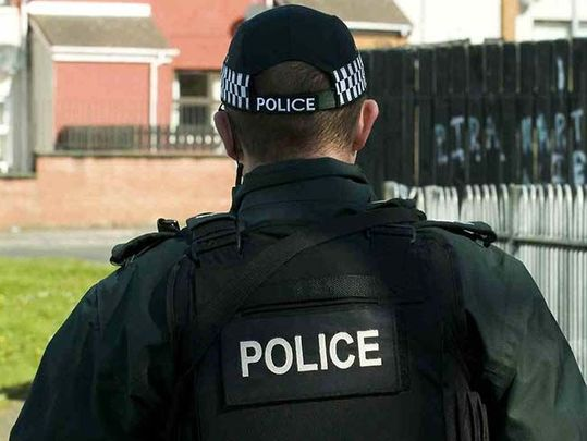 A member of the Police Service of Northern Ireland.