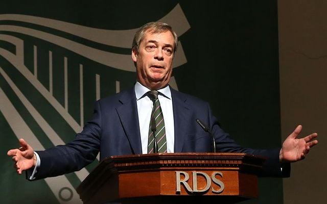 Nigel Farage believes Ireland will leave the EU.