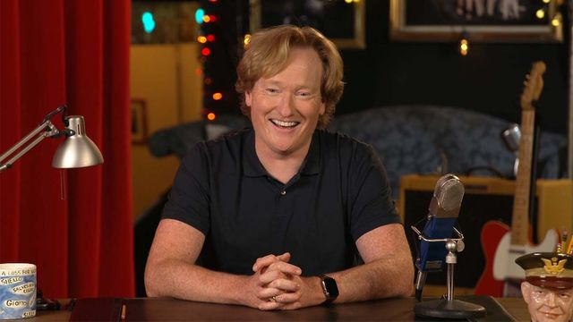 Conan O\'Brien told Stephen Colbert about his surprising DNA test results
