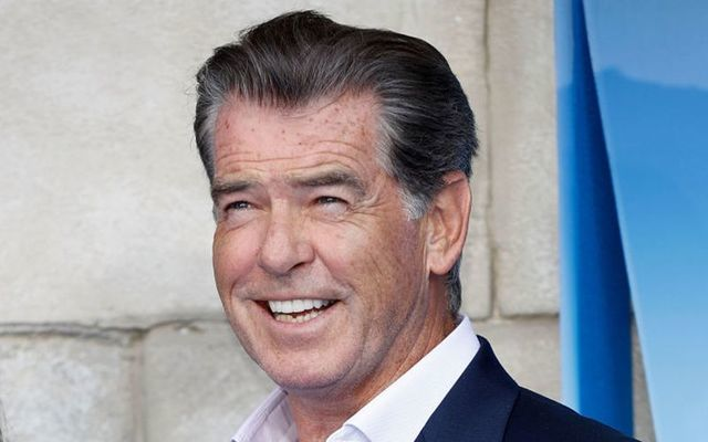 Pierce Brosnan in 2018.