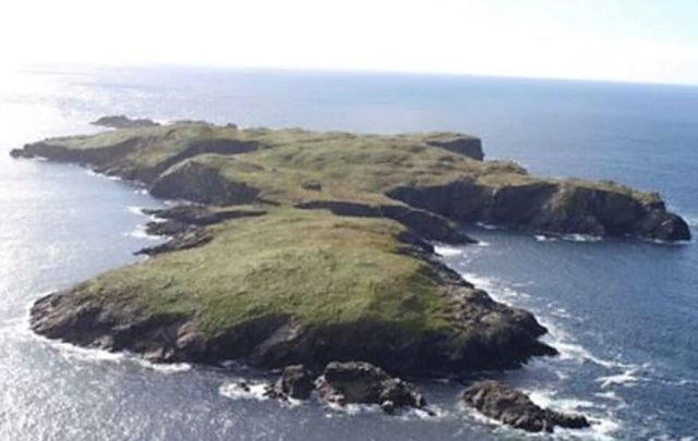 High Island off the coast of Galway is for sale.