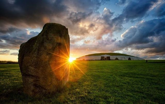 Newgrange in Co Meath could have been inspired by an ancient culture in France