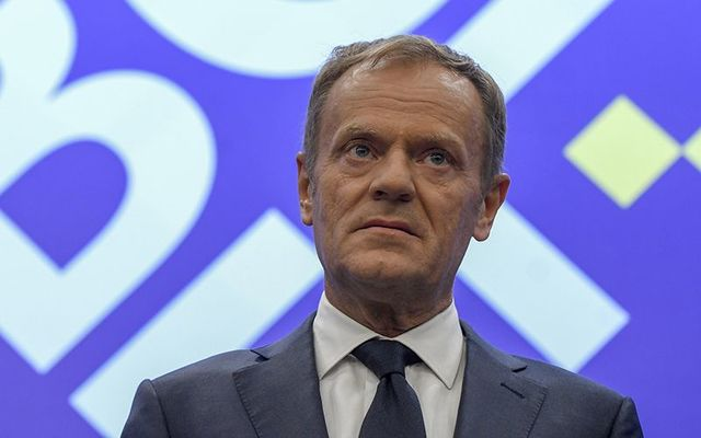 European Council President Donald Tusk.