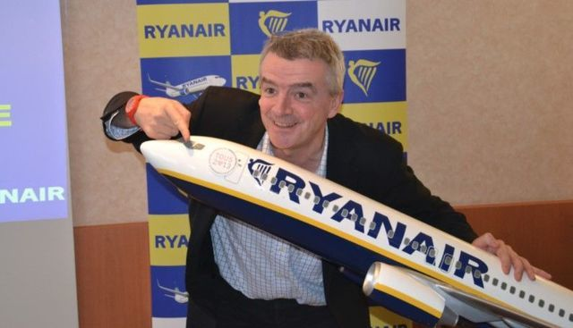 Ryanair CEO Michael O\'Leary.