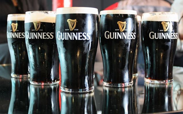 """Guinness\' owner Diageo participating with Louis Vuitton Moet Hennessy (LVMH) is \""""likely\"""" buying Pernod Ricard."""