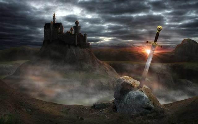 Was King Arthur a fictitious \'Celtic superhero\'?