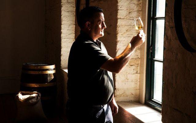 Darryl McNally, Master Distiller at the Dublin Liberties Distillery.