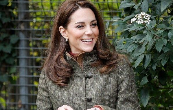 Kate Middleton wearing an Irish designer.