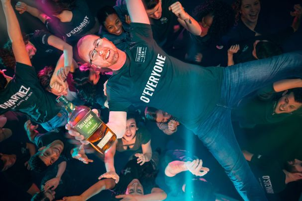 """Flipping the idea of a typical St. Paddy's on its head, IrishCentral proudly introduces """"O'Everyone"""" presented by Tullamore D.E.W. triple blended Irish whiskey.\n"""