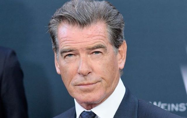 Pierce Brosnan likes his cappuccino stirred, not shaken
