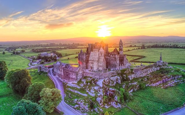 Rabbies Tour: The Rock of Cashel, in County Tipperary.