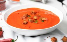 """Dublin's """"Brother Hubbard Cookbook"""" roast beetroot and tomato soup recipe"""