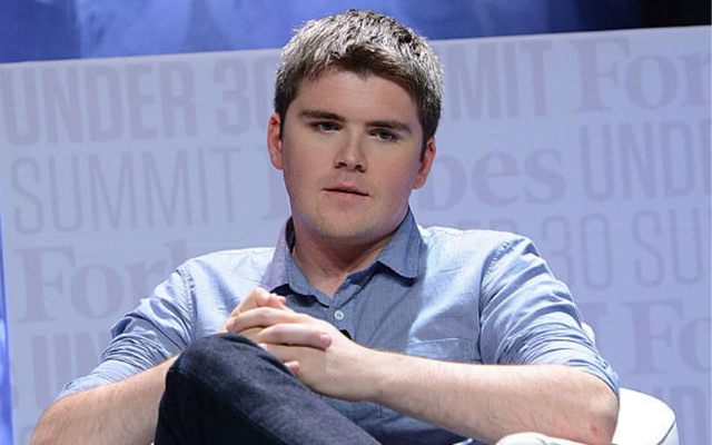 John Collison, President & Co-Founder of Stipe speaks at Forbes Under 30 Summit at Pennsylvania Convention Center on October 5, 2015, in Philadelphia, Pennsylvania.