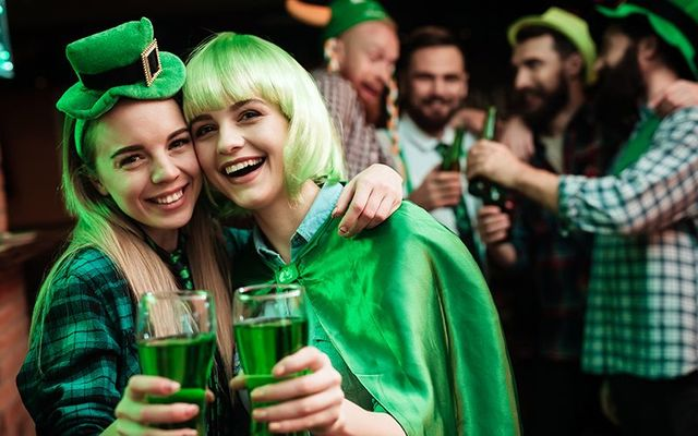 Going green in the US for St. Patricks\' Day!? You\'re certainly not alone.