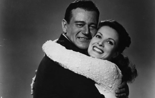 Althoughthey were never married, John Wayne and Maureen O'Hara had their own version of a love affair, keeping up a strong friendship throughout their careers.