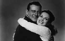 How Maureen O'Hara said a final farewell to John Wayne